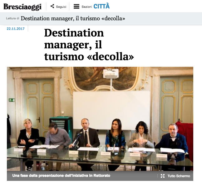 Destination manager, il turismo «decolla»